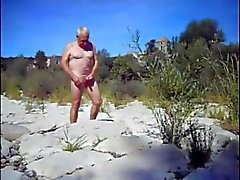 fkk nudist beach outdoor public old men gay