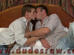 J.R. and Noah Brooks are in bed making out with each other,
