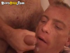 Hairy Lovers Fuck Passionately On Bed