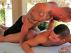 Massage And Tug Ethan Slade and Derek part3