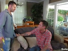 Married guy Sebastian Fischer gets nailed by horny gay Tristan Jaxx