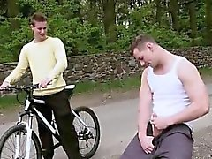 Free videos of young gay boy porn Outdoor Anal Sex On The Bi