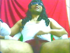 Indian Sissy Playing Horny Live Full Cum Show