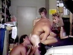 Bisexual vintage foursome