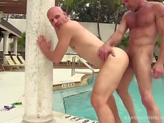 Chad Brock Bareback Fucks and Breeds Cole