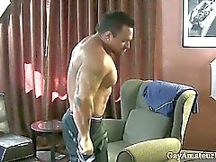 Gaystraight muscle amateur assfingered