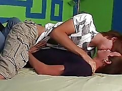 Twink love in bedroom