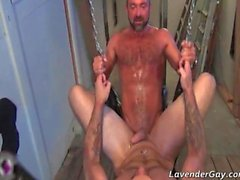 Josh West and Tober Brandt BDSM gay