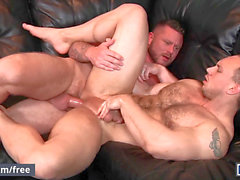 folks - St8 hubby cheats on wife with hairy grizzly - John Magnum, Charlie