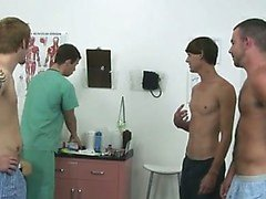 Amazing gay scene Today a group of fellows stop by the clinic wanting