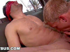 BAIT BUS - Cole Harvey and Tyler Hunt Get Down And sloppy In A Moving Van